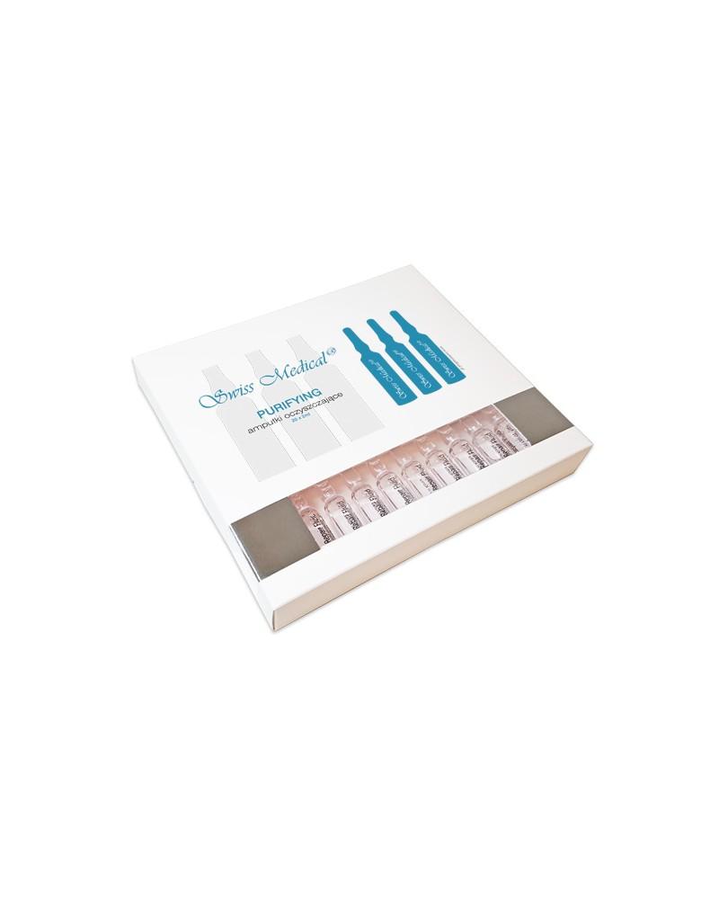 Swiss Medical PURIFYING 20x2ml Ampułki Oczyszczające Całe opakowanie