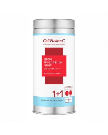 Cell Fusion C Cure Sunscreen SPF 50+/PA++++ PROMO-metal BOX